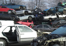 pojazdy do rozbiórki